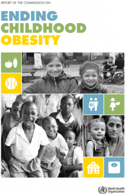 Cover of Ending Childhood Obesity report